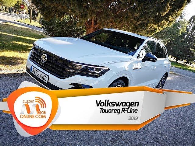 Volkswagen Touareg 2019 / Al volante / Prueba dinámica / Review / Supermotoronline.com