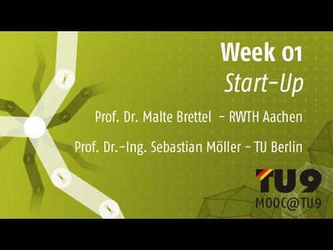 MOOC@TU9 - Week 01 - Start-Up