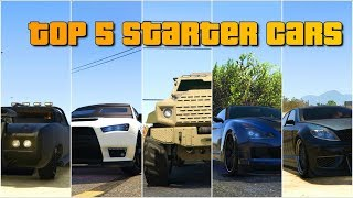 GTA V online Top 5 cars for beginners | Best cars for starters | solo