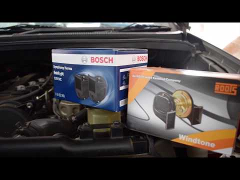 Bosch Symphony Horn Vs Roots Windtone Horn | Review and Unboxing (Order Online)