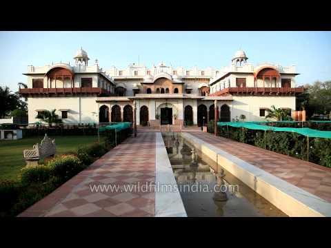 Exterior of Laxmi Vilas Palace - Bharatpur, Rajasthan