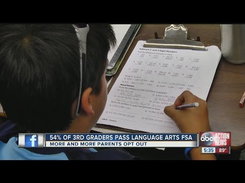 FSA results mean stress for students and parents