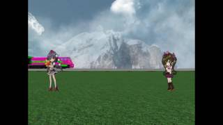 ROBLOX Commuter Train Chases Rail Pickup Truck At Touhou Mysterious Mountatin