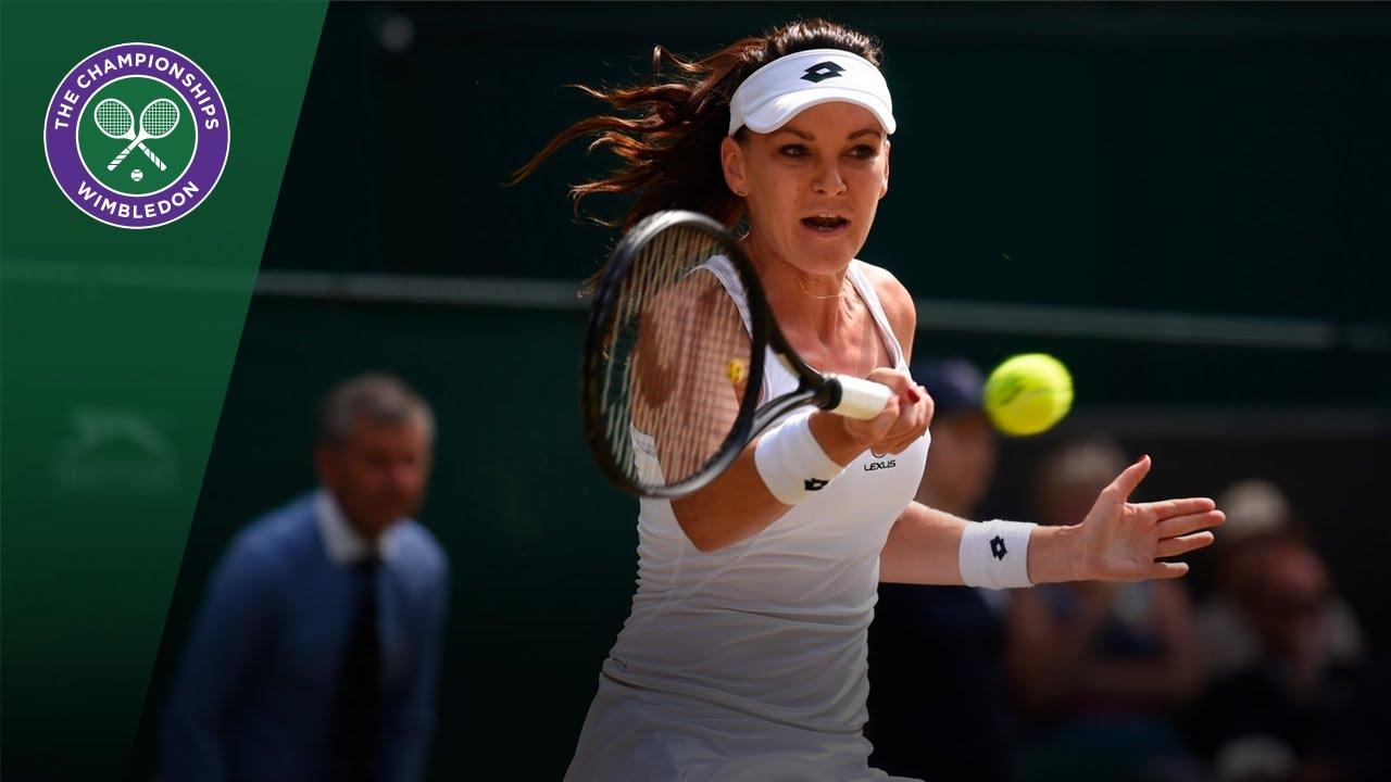 Agnieszka Radwanska v Timea Bacsinszky highlights - Wimbledon 2017 third round