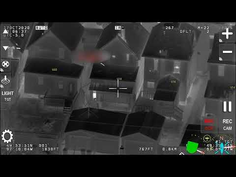 AIR-1 Helps Nab Man With a Gun
