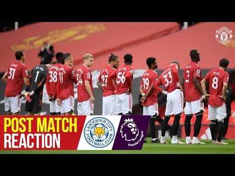 Solskjaer & Matic react to Leicester loss | Manchester United 1-2 Leicester City | Premier League