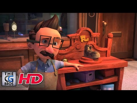 "CGI 3D Animated Short HD: ""The Small Shoemaker"" - by La Petite Cordonnier Team"