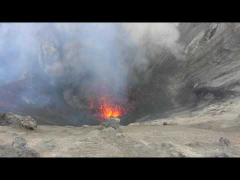 Volcanic activity on Tanna on YouTube