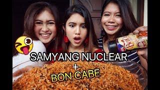 Samyang Nuclear + Boncabe Challenge  Mukbang