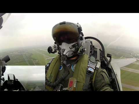 Royal Danish Air Force F-16 Demo Flight  Full Res HD 1080p