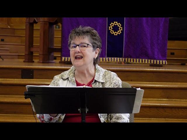 Jan Randolph's Bible Study - March 5, 2021