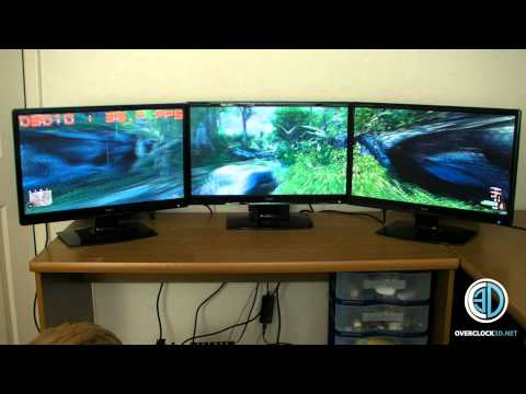Asus MARS 2   5760x1080 Nvidia Surround Review - MARS II