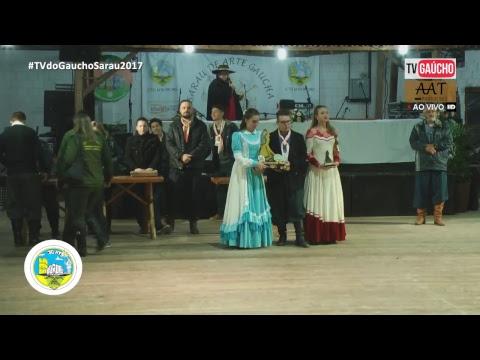 XIX Sarau de arte gaúcha - Juvenil ( Parte 02 ) 10/06/2017