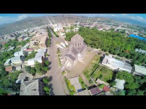 Город Ванадзор (Армения)
