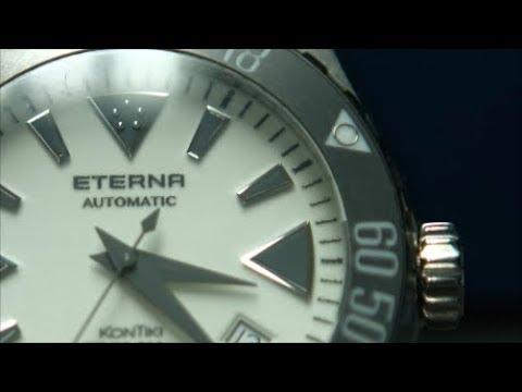 c1973 Eterna Quartz Electronic vintage watch with ESA 9180 .