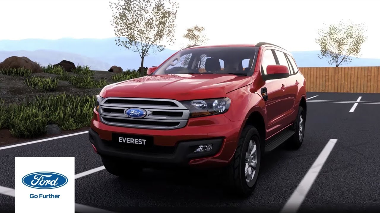 Ford Everest Spacious Seating and Storage Options | Ford Australia on