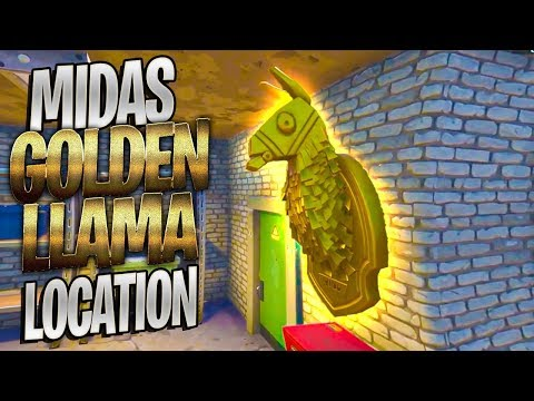 MIDAS' GOLDEN LLAMA LOCATION - Search Midas' Golden Llama Challenge