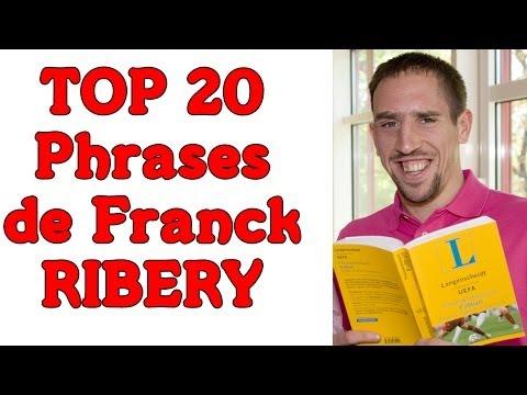 Franck Ribery phrases cultes 20 Bons moments (Rguilanfr)