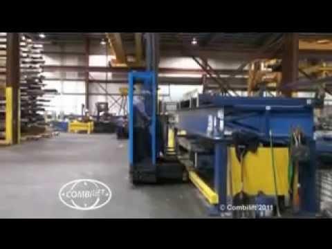 Combilift C11000gte Side Loader Narrow Aisle Forklift