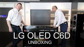 lg oled55c6 curved oled unboxing thomas electronic online shop oledc6