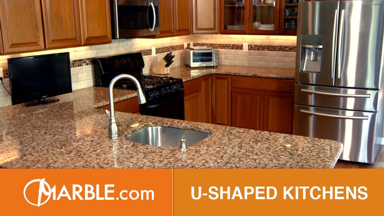 U-Shaped Kitchens| Design Montage