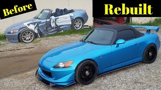 Rebuilding a Wrecked Honda S2000 from Copart part 3