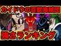 【ワンピース】最新版!四皇カイドウの百獣海賊団メンバー強さランキングベスト10!最強キャラ発表!2019年 TOP 10 Strongest Kaido's Crew【ONE PIECE考察】