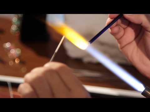 «Ручная работа». Кулон-сова в технике лэмпворк (8.07.2015)