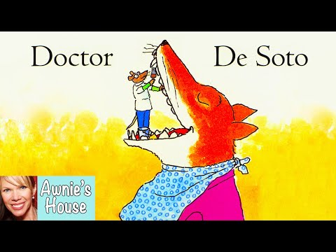 📚 Kids Book Read Aloud: DOCTOR DE SOTO By William Steig