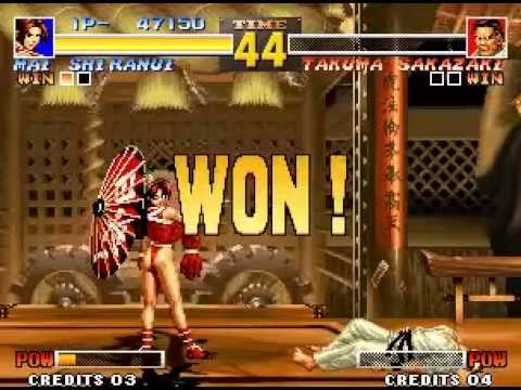 KOF 95 - MAI(SINGLE ALL LV8)