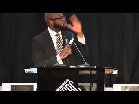 Reverend Willie Francois III, assistant pastor at First Corinthians Baptist Church Speaks Aug27 NYC