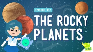 Weather In Space (the Rocky Planets): Crash Course Kids #43.1