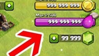 Clash Of Clans - 1saatte 8 Milyon Ganimet Nasıl mı ? HİLE Mİ !!!