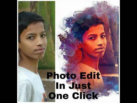 Photo Editing In Just A Click By HK The Explorer