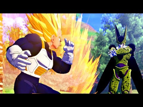 Dragon Ball Z: Kakarot - Vegeta vs 2nd Form Cell & Perfect Cell (Final Form) PS4 Pro