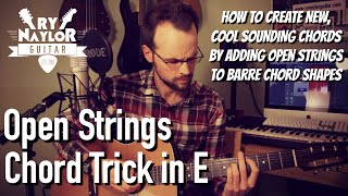Open String Chords - Open String Voicings