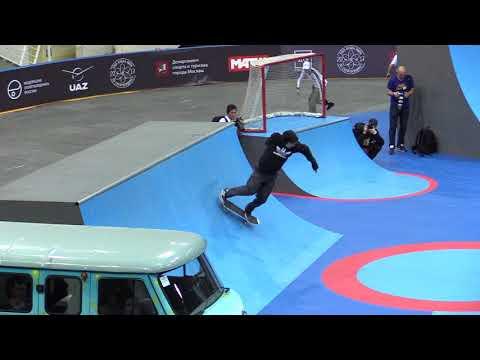 Маркел Андронов - qualification @ WORLD CUP SKATEBOARDING MOSCOW 2017