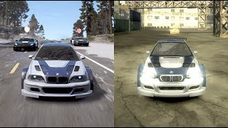 All About the NFS BMW M3 GTR