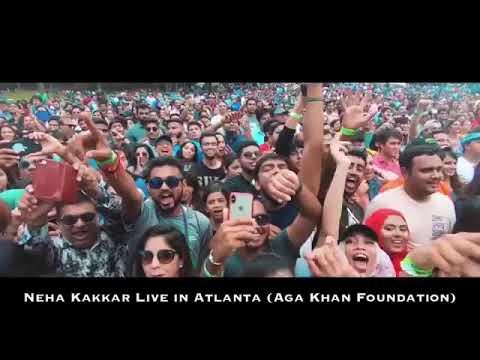 Live In Atlanta Neha Kakkar Biggest Crowd Ever Witnessed
