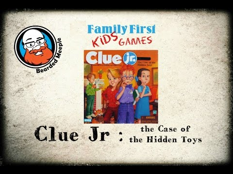 Clue Jr Case Of The Hidden Toys Game Review Youtube