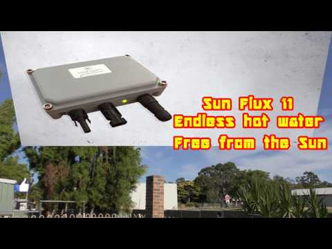 Sun Flux II. Endless Electric hot water. Free from the Sun