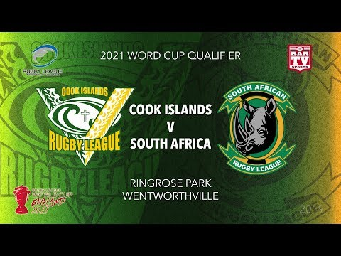 2019 Rugby League World Cup Qualifier - Cook Islands V South Africa