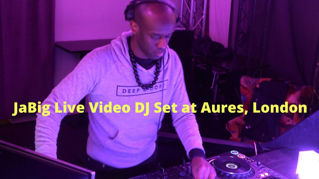 Video: JaBig Live House Music DJ Mix at Aures (London, UK)