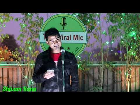 Hindi Poetry By Shivam Rana L Awesome Shayari L The Wiral Mic L Open Mic L Social Housing L TWM L