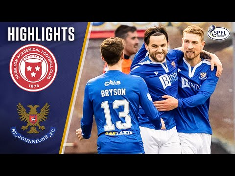 Hamilton St. Johnstone Goals And Highlights