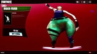 FORTNITE DISCO FEVER DANCE EMOTE BASS BOOSTED