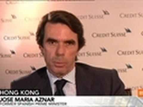 Aznar Says Spanish Economy Has Capacity to Improve