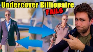 Millionaire Reacts to Billionaire trying to Make Money [Undercover Billionaire]