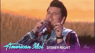 Wade Cota: Shows a New Side Of Him During Disney Night | American Idol 2019