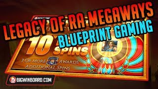 LEGACY OF RA MEGAWAYS (BLUEPRINT GAMING): EXPLORER WIN!